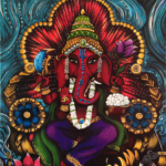 Ganesha by Cat Paschal Dolch